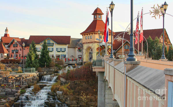 Frankenmuth Photograph - River Place Shops In Frankenmuth Mi by Jack Schultz