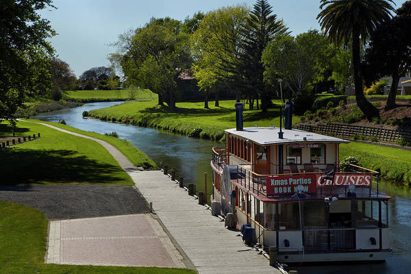 Paddle Boats Photograph - River Queen Paddle Steamer, Riverside by David Wall