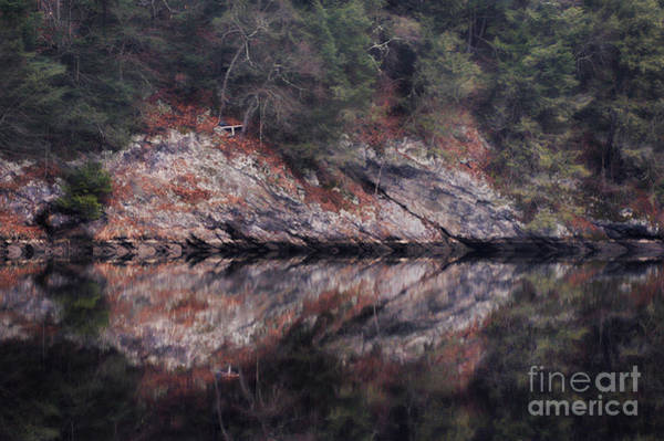 Riverside Photograph - River Reflection by HD Connelly
