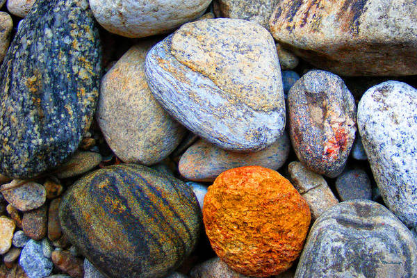 Photograph - River Rocks 1 by Duane McCullough