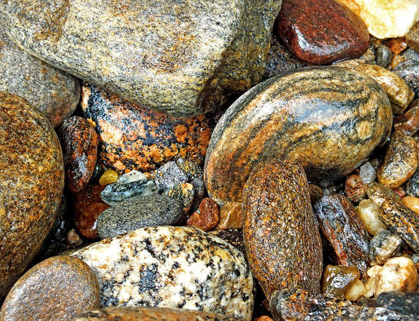 Photograph - River Rocks 11 by Duane McCullough