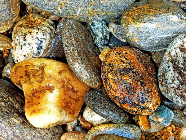 Photograph - River Rocks 12 by Duane McCullough