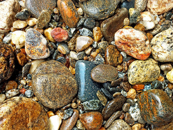 Photograph - River Rocks 15 by Duane McCullough