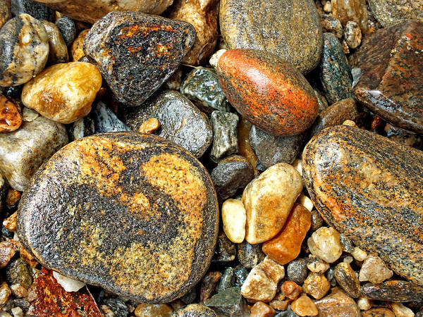 Photograph - River Rocks 16 by Duane McCullough
