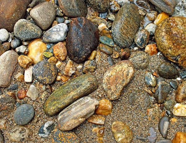 Photograph - River Rocks 17 by Duane McCullough