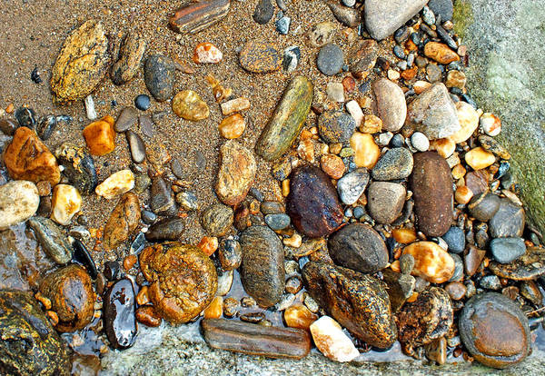 Photograph - River Rocks 9 by Duane McCullough