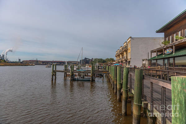 Photograph - River Room Dockside by Dale Powell