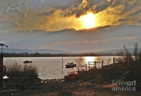Suir Photograph - River Suir Sunset by Catriona Cashin