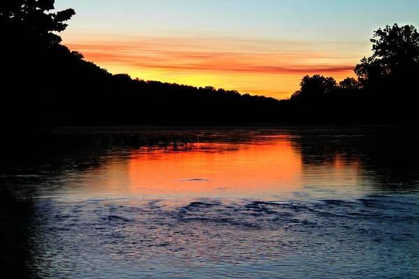 Photograph - River Sunset by Candice Trimble