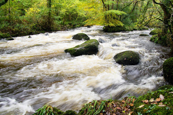 Photograph - River Teign Devon by Pete Hemington