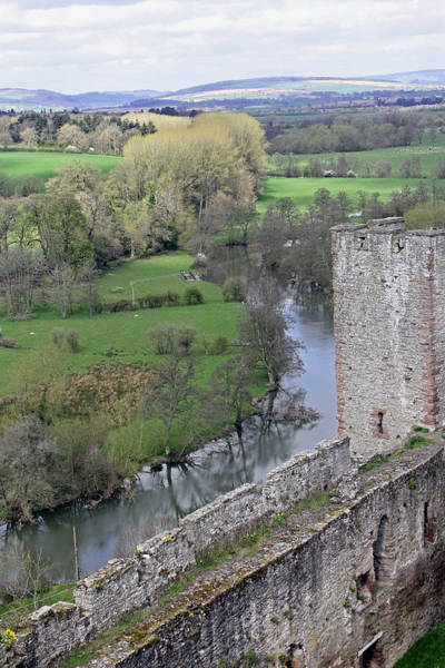 Photograph - River Teme At Ludlow Castle by Tony Murtagh