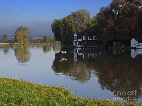 Wall Art - Photograph - River Thames At Cookham by Louise Heusinkveld