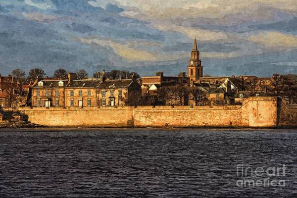 Photograph - River Tweed At Berwick - Photo Art by Les Bell