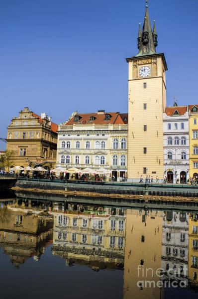 Photograph - River Vltava Reflections by Brenda Kean