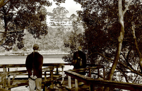 Photograph - River Walk Brisbane by Debbie Cundy