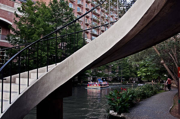 Photograph - River Walk Stairway by Andy Crawford