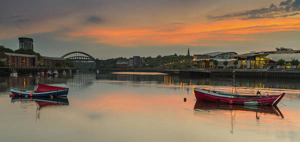 Sunderland Wall Art - Photograph - River Wear Sunset - Sunderland by Danny Birrell Photography