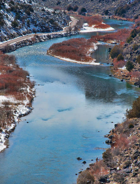 Photograph - River Winter Blue  by Britt Runyon