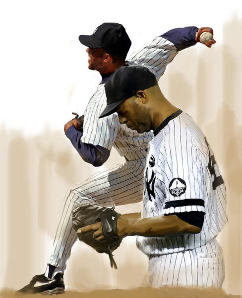 Painting - Rivera   Mariano Rivera  by Iconic Images Art Gallery David Pucciarelli