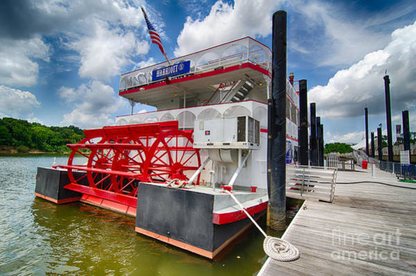 Photograph - Riverboat At Montgomery Alabama by Danny Hooks
