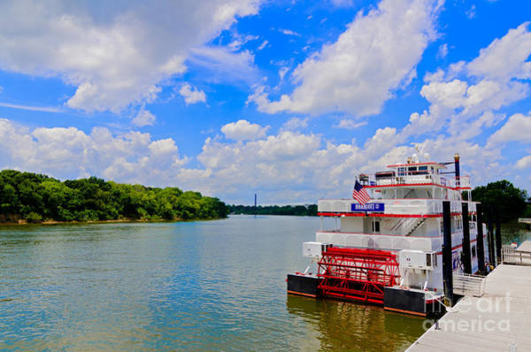 Photograph - Riverboat On The Alabama River by Danny Hooks
