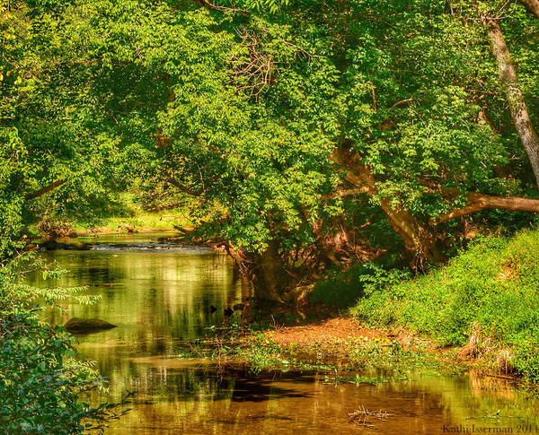 Red Wall Art - Photograph - River's Bend by Kathi Isserman