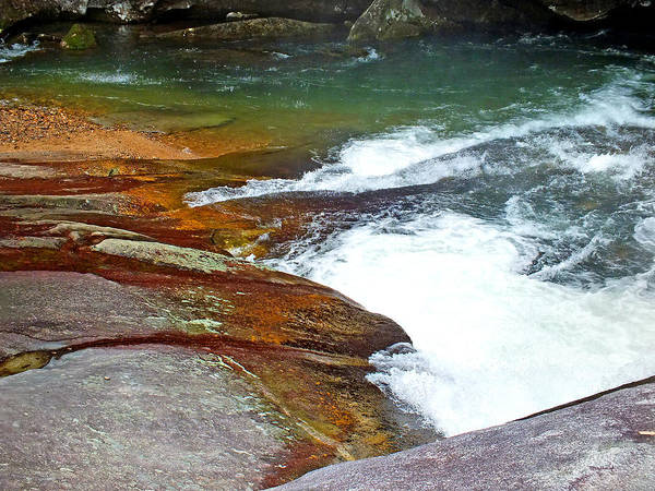 Photograph - Riverside At Birdrock Waterfall by Duane McCullough