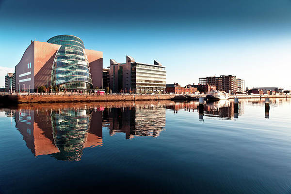 County Dublin Photograph - Riverside Buildings by Dave G Kelly