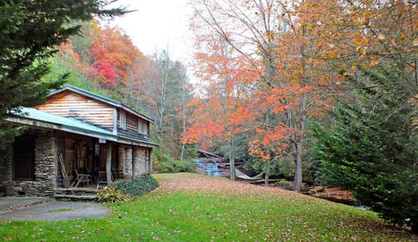 Photograph - Riverside Home In The Fall by Duane McCullough