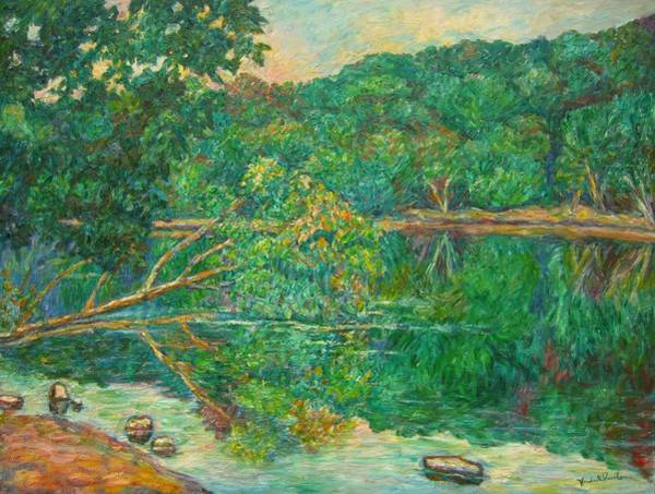Painting - Riverview Reflections by Kendall Kessler