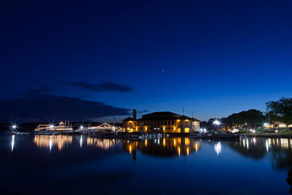 Lake Geneva Wall Art - Photograph - Riviera Blue by Steve Gadomski