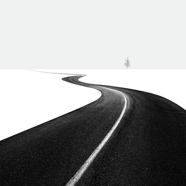 Wall Art - Photograph - Road I by Hossein Zare