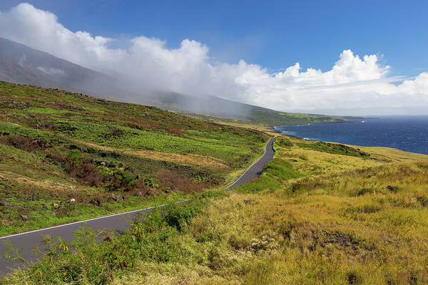 Island In The Sky Photograph - Road Leading Towards Pacific Ocean by Panoramic Images