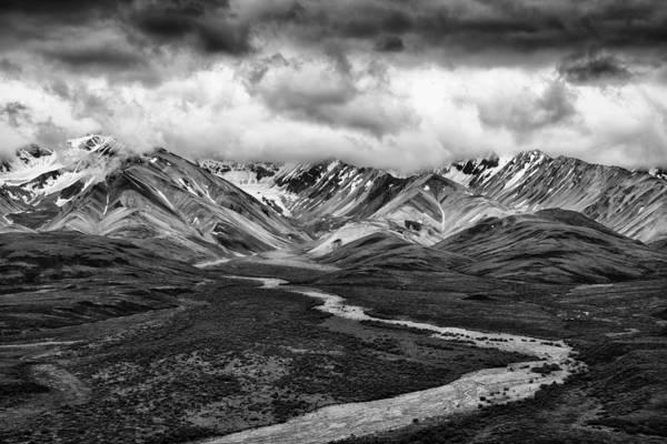 Denali Photograph - Road Less Traveled by Mike Lang