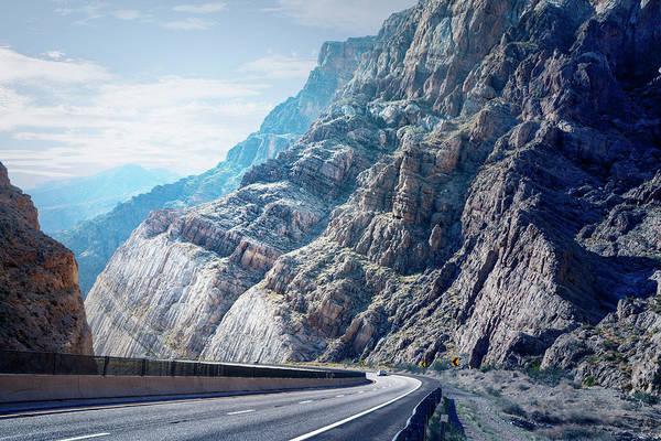Photograph - Road Through Mountains, Arizona by Ed Freeman