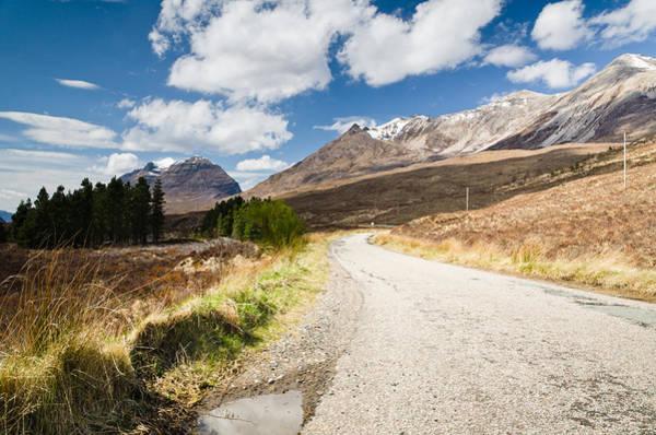 Beinn Eighe Photograph - Road To Beinn Eighe by David Head