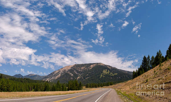 Road To Big Sky Country Art Print