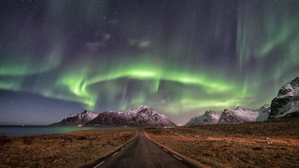 Northern Photograph - Road To Boreal by Pablo Perdomo