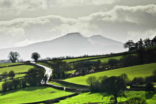 Photograph - Road To Brecon Beacons by Ginny Battson