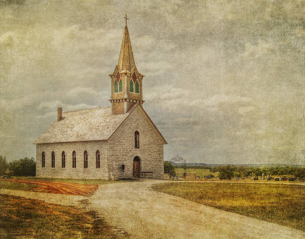 Protestant Photograph - Road To Church by David and Carol Kelly