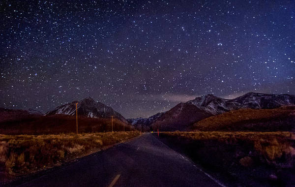 California Adventure Photograph - Road To Convict Lake by Cat Connor