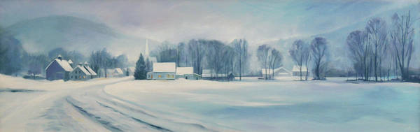 Painting - Road To Felchville Vermont by Nancy Griswold