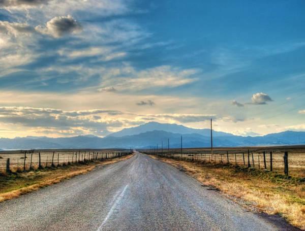 Laramie Photograph - Road To Laramie Peak by Mark Baker