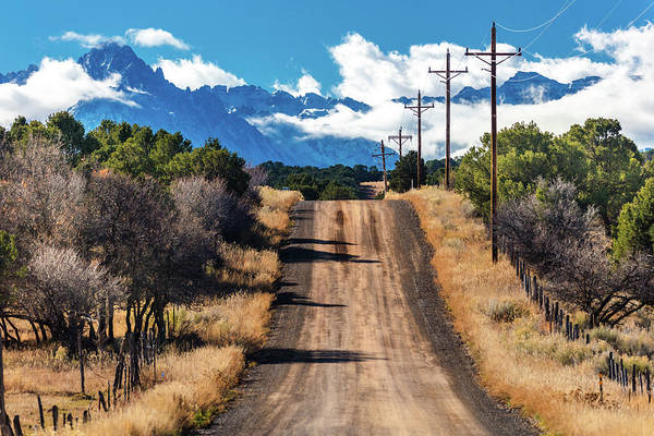 Ridgway Photograph - Road To Mount Sneffels, San Juan by Panoramic Images