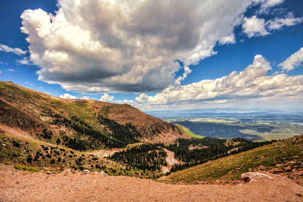 Photograph - Road To Pikes Peak by Brent Durken