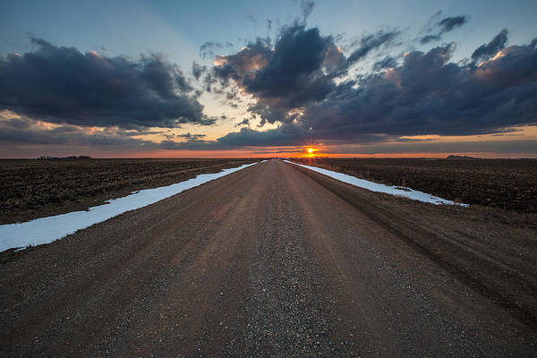 Wall Art - Photograph - Road To Spring by Aaron J Groen