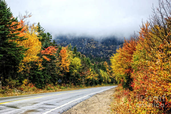 Photograph - Road To The Clouds by David Birchall