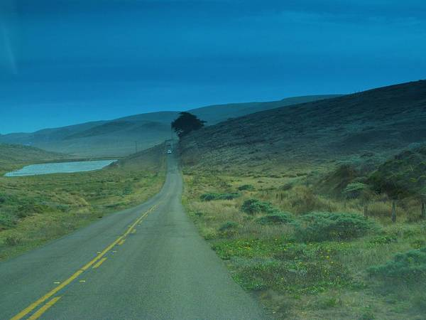 Photograph - Road To The Lighthouse by Michelle Dallocchio