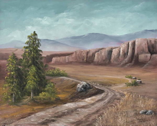 Painting - Road To The Old Homestead by Darice Machel McGuire