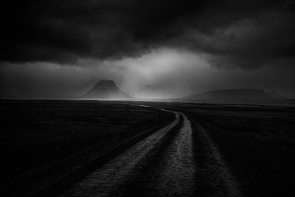 Way Wall Art - Photograph - Road To The Stormy Land by Peter Svoboda, Mqep